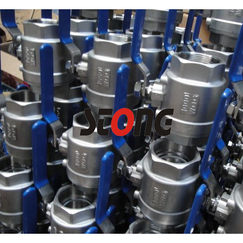 1000 Wog Light Type Stainless Steel 2 Piece Ball Valve pictures & photos