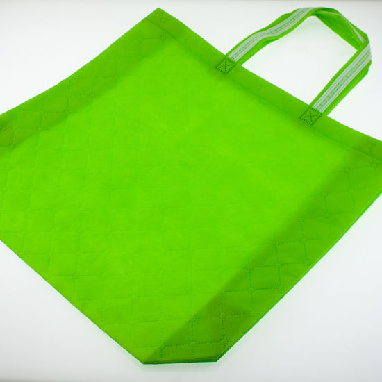 Pure Color Foldable Non Woven Packing Bags pictures & photos