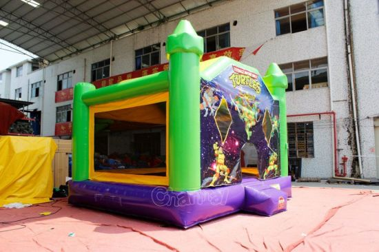 Ninja Turtle Inflatable Bounce House Chb740 pictures & photos