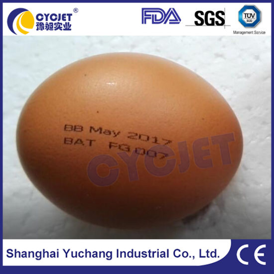 Cycjet Alt390 Best Date Code Eggs Inkjet Printer pictures & photos