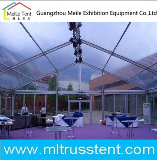 Aluminum Luxury Outdoor Transparent Wedding Marquee Party Permanent Tent (ML195)