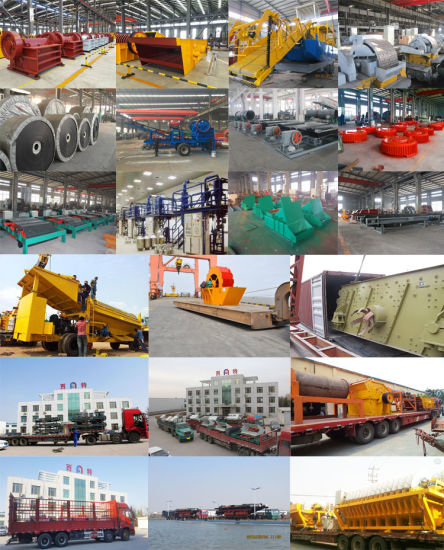 2018 New Type Iron Sand Pumping & Separating Dredger for Sea Sand Mining pictures & photos