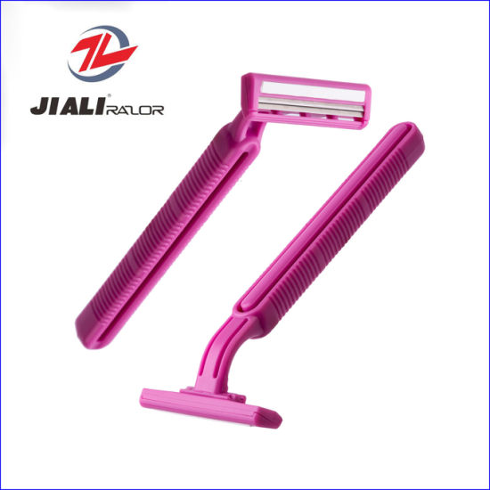 Wholesale Disposable Razor with High Quality (Twin Blades)