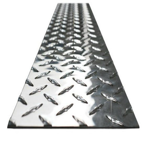 6061 Checkered Tread Aluminium Plate for Anti-Skid Used pictures & photos