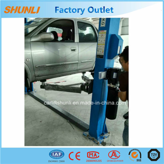 4 Tons 2 Post Car Lift with Manual Release  Post Car Lift Wiring Diagram on