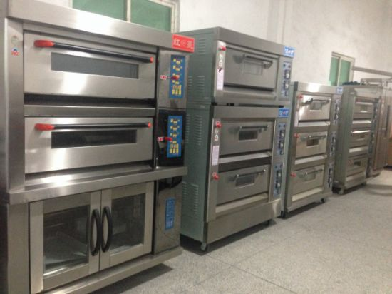 3-Deck 6-Tray Standard Electric Oven Pizza Oven (CE) pictures & photos