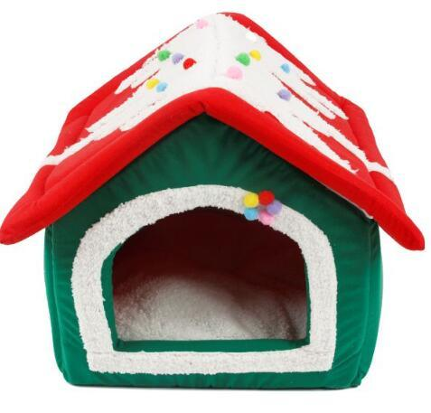 Christmas Indoor Pet Dog Bed House, Pet Cage, Pet House pictures & photos