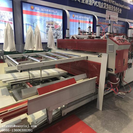 PVC Celuka Foam Board Machine for Construction/Kitchen Cabinet/Bathroom Cabinet