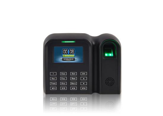 China Biometric Timeclocks Wireless Fingerprint Time