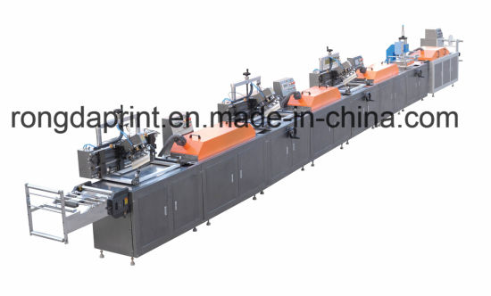 Woven Label/ Fabric Label Automatic Screen Printing Machine