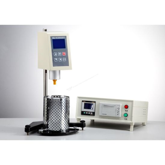 Temperature Control Precision 0.1 Degree Rotational Viscometer