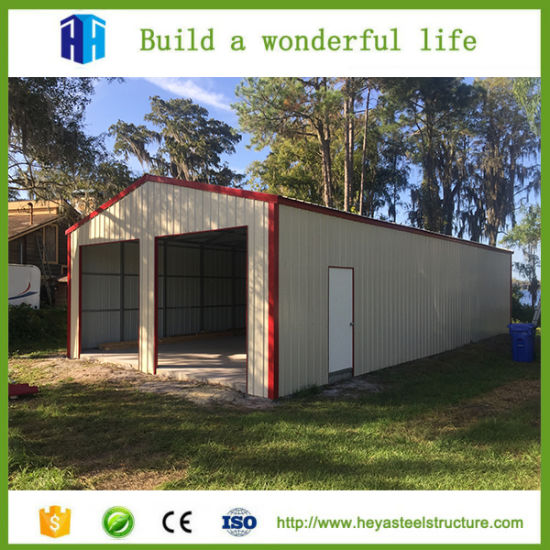 Wonderful Low Cost Factory Workshop Steel Structure Building Car Garage Design