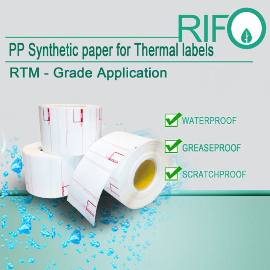 Adhesive Paper Thermal Transfer Labels Removable for Zebra Printers