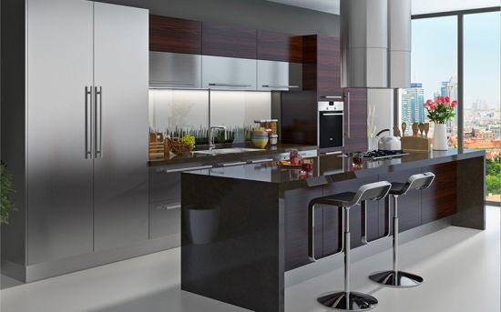 High Quality Standard Stainless Steel Kitchen Cabinet