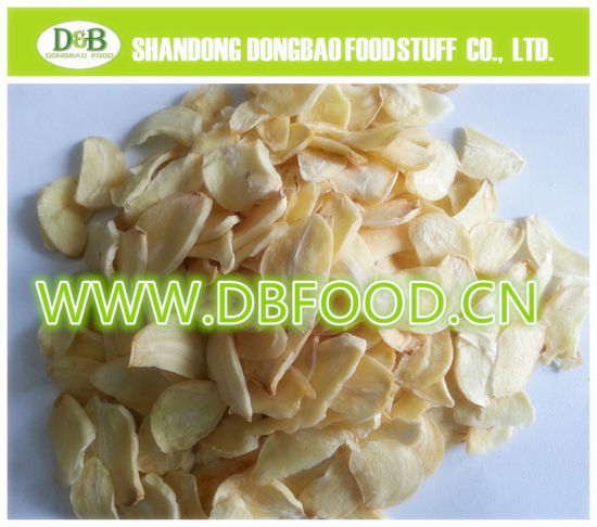 Garlic Flake Natural Size White Color Strong Flavor Pure Dried Dehydrated Garlic Flake