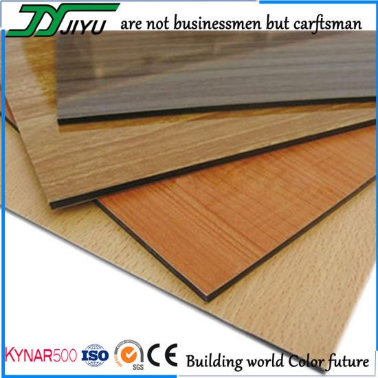 Wood Grain of Aluminum Composite Panel