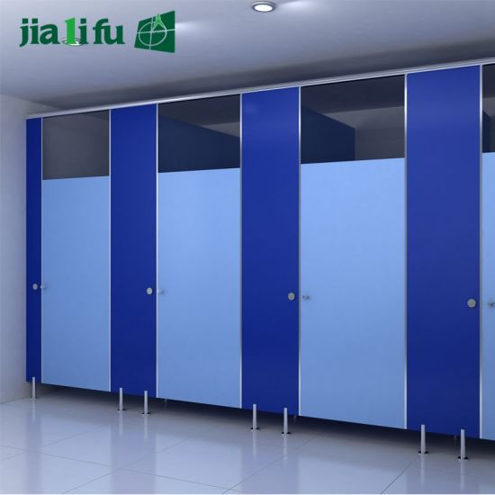 Jialifu HPL Aluminium Alloy Accessories Toilet Partition pictures & photos