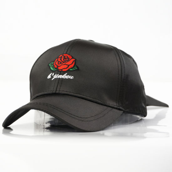 Fashion 3D Embroidery Silk String Baseball Caps for Women