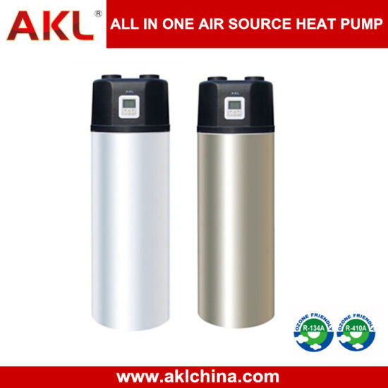 Hot New All in One Air Water Heat Pump Water Heater for Shower