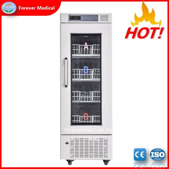 Clinical Medical Used Upright Blood Bank Refrigerator (BBR210)