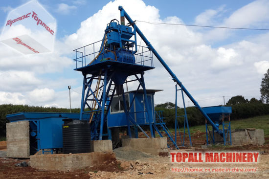 China Crec Group Purchased Concrete Batching Plant Cbp30 in Africa