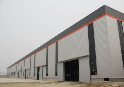 Low Cost New Design Steel Structure Garment Factory