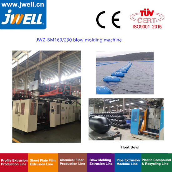 Accumulation Type Blow Molding Machine for Floating Solar Panel Pontoons