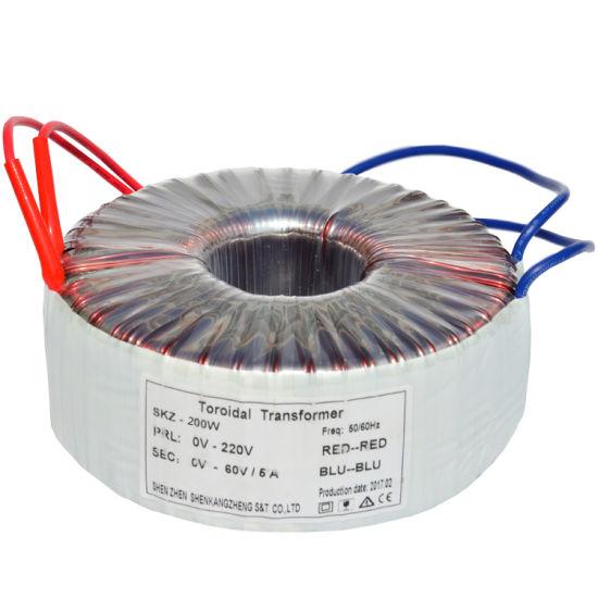 250W Ring Core 250va Toroidal Transformer for Power Amplifier