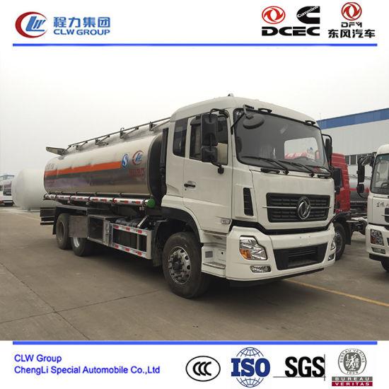 20000~30000 Stainless Steel Fuel Tank Truck, Ss Fuel Refueling Truck