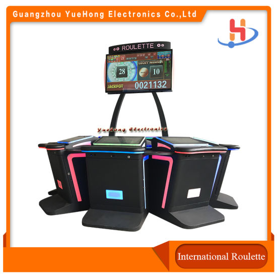 Casino Equipment Intelligent Management IC Board Electronic Roulette Game Machines