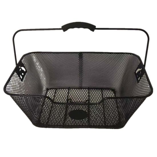 Simple Rear Bicycle Basket with Handle of Bicycle Parts