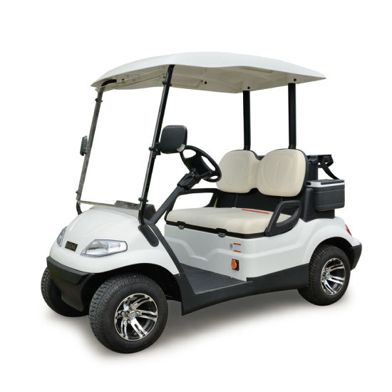 Ce Certificated Battery Operated 4 Seater Electric Golf Cart