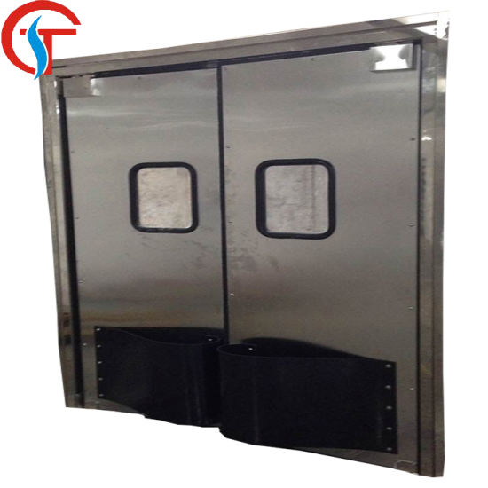 Stainless Steel Impact Traffic Door for Warehouse pictures & photos