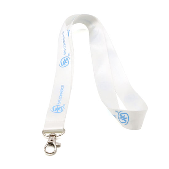 Factory OEM Custom Blank Polyester Lanyards pictures & photos