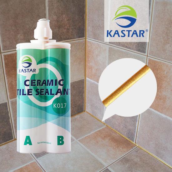 Flexible Bathroom Floor Repair Blue Epoxy Waterproof Ceramic