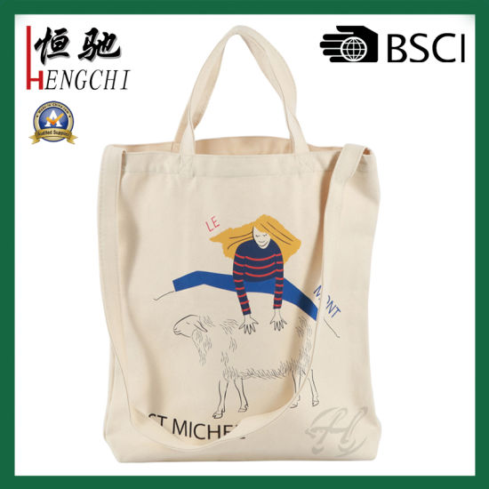 Wholesale Cotton Tote Gift Bag Double Handle Shopping Bag for Promotion pictures & photos