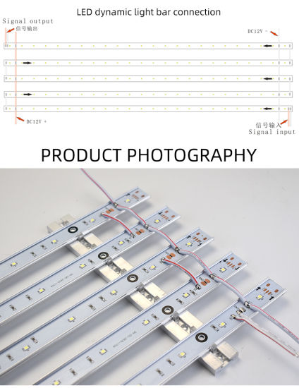 LED licht bar hook up