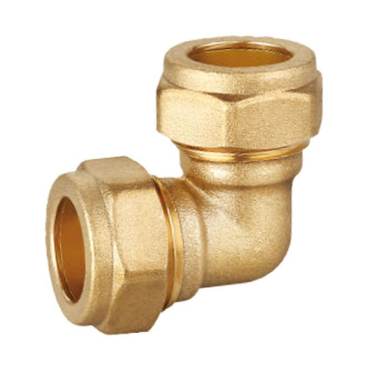 High Quality Brass Compression Equal Elbow Fitting Wras Certificate