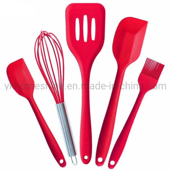 Hot Selling Items Cookware 100% BPA Free Silicone Cooking Tool Set Kitchen Utensils