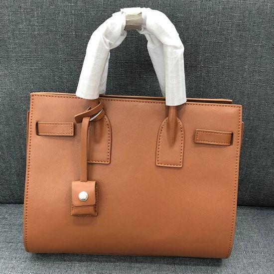Fashion Designer Handbags Tote Bags Luxury Custom Women Leather Handbag From China Factory Wholesale Market Emg5711