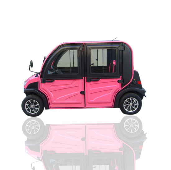 2019 New Design Cheap Price Four Seats Scooter Electric Car Vehicle for Family