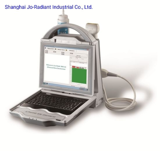 Medical Equipment Portable Automatic High Effective Ultrasound Bone Densitometer pictures & photos