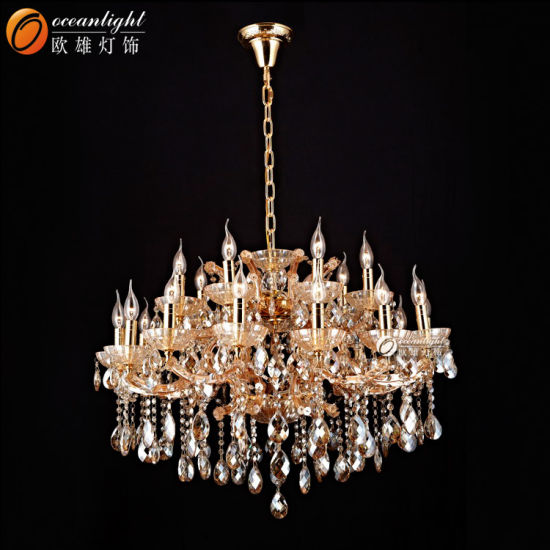 China Crystal Glass Restaurant Living Room Led Pendant Lamp China