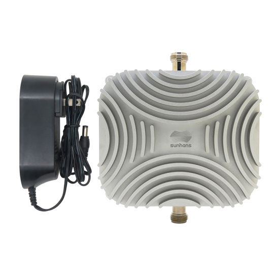 Sunhans 5000~5875MHz 10W Indoor Bi-Directional Mobile Wireless Repeater WiFi Signal Booster for 2500~5000 Square Meters