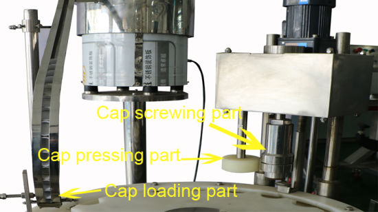 Factory Sales Washer Filler and Capper Liquid Filling Machine pictures & photos