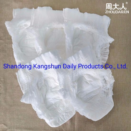 Wholesale Custom Design  Diapers  Elderly Disposable Free Sample Model Korea  Adult  Diaper