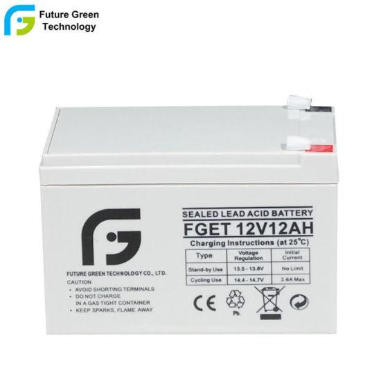 12V 12ah AGM Valve Regulated Lead Acid Battery for UPS