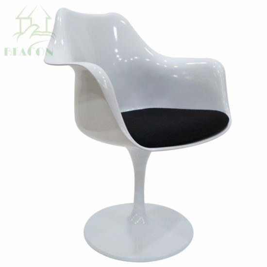 Eero Saarinen Tulip Armrest Chair Replica for Dining Room  sc 1 st  Guangzhou Beacon Peace Home Decor Co. Limited & China Eero Saarinen Tulip Armrest Chair Replica for Dining Room ...