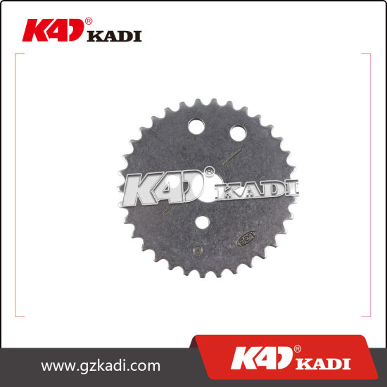 Timing Sprocket of Motorcycle Parts for Eco 100/Tvs 100 pictures & photos