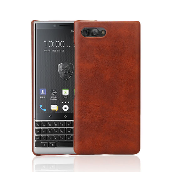 Personalized Custom PU Leather Effect Phone Case for Blackberry Key2/Bbf100 pictures & photos